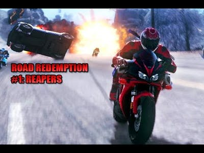 Road Redemption Game-play #1- REAPERS #RoadRedemption #Steam