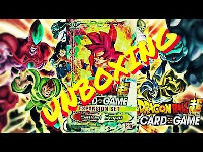 SAIYAN SURGE EXPANSION SET UNBOXING DRAGON BALL SUPER CARD GAME
