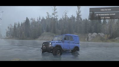 Spintires MudRunner American Wilds  Climb a Hill P9