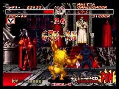 Samurai Shodown 2 GEN-AN arcade run (parte 1)