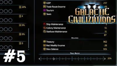 Galactic Civilizations III - Treasury and Income