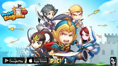 【Pocket Kingdom TD】adorable tower defense game! Gameplay Android / iOS