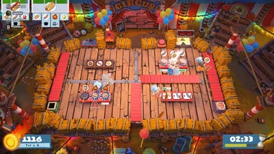 Overcooked! 2 Carnival of Chaos 2-4 3492 (4-player)