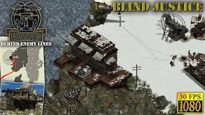 "Commandos: Behind Enemy Lines. Mission 5 ""Blind Justice"" [HD 1080p 30fps]"