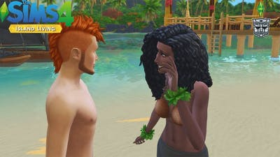 Falling For The Outsider | Sims 4 Island Living Part 7