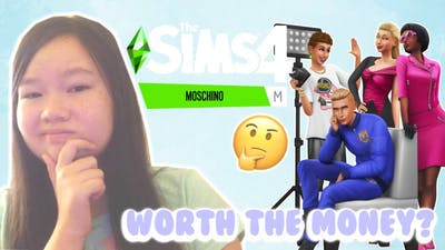 SIMS 4 MOSCHINO STUFF REACTION! IS IT WORTH THE MONEY? // Sims 4 Reaction & Thoughts