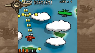 Flying Red Barrel The Diary Of A Little Aviator Gameplay PC No Commentary