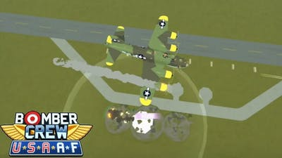 DISRUPTING ENEMY AIR SUPPORT! BOMBING ENEMY AIRFIELD|BOMBER CREW U.S.A.A.F DLC CAMPAIGN