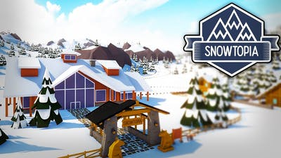 THIS GAME IS SO RELAXING! - Snowtopia: Ski Resort Tycoon