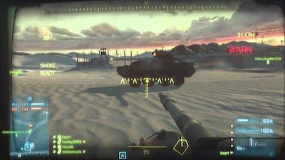 Battlefield 3, Armored Kill (part 6) Tank Superiority on Bandar Desert