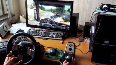 Euro Truck Simulator 2 - Going East DLC - Logitech G27