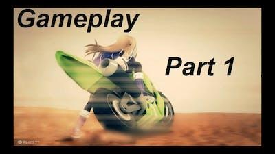 LIL GIRL DRIVING HEAVY BIKE | Superdimension Neptune VS Sega Hard Girls | Gameplay | Part 1