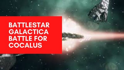 Battlestar Galactica: Deadlock - Battle for Cocalus Gameplay Cinematic