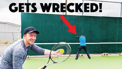 The Most Extreme Tennis Game