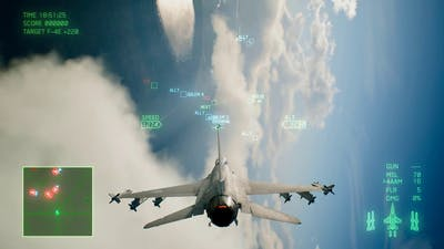 Ace Combat 7 Skies Unknown Mission 3 Two Pronged Strategy