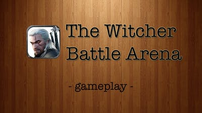 The Witcher Battle Arena [by CD Projekt RED] - iPad Gameplay Trailer
