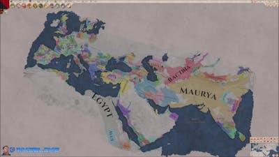 Imperator Rome Timelapse v1.1.1 Pompey Full Map