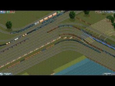 Chris Sawyer's Locomotion : Conrail Railfanning (14 tracks  of madness)