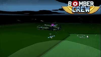 NIGHT RAID! DISABLING ENEMY FIGHTER PATROL AIRBASE|BOMBER CREW MAIN CAMPAIGN