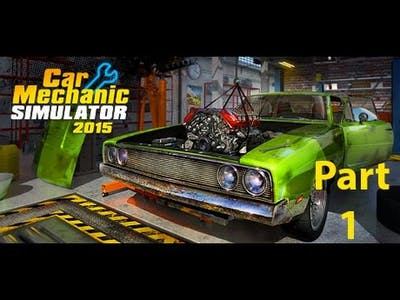 Let's Play Car Mechanic Simulator 2015 Performance DLC(EP1 Fixing Engine and  Replacing Filters )
