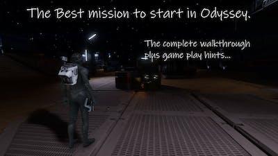 Elite Dangerous Odyssey... How to play in Odyssey ( best starter mission walkthrough... )