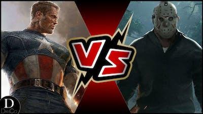 Captain America VS Jason Voorhees | Marvel Comics | Friday the 13th | BATTLE ARENA