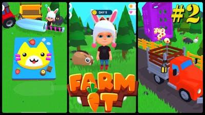 FARM IT | PART : 2 | Farming Simulator | Apple Arcade | iOS Gameplay Walkthrough |