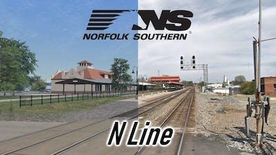Railworks vs. Reality - Norfolk Southern N-Line