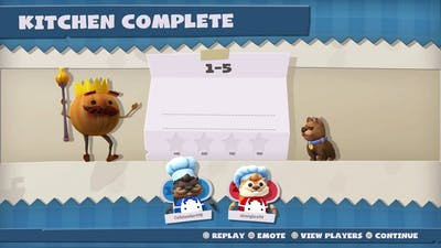 Overcooked! All You Can Eat Chinese New Year 1-5 4 Stars