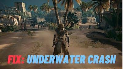 FIX | Assassin's Creed Origins UNDERWATER Crash |