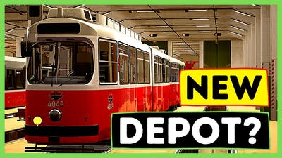 🟢 NEW Depot DLC Released! 🟢 EARLY SHIFT   TramSim Gameplay