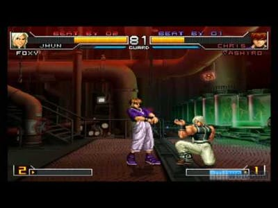 The King Of Fighters 2002: Unlimited Match NEW GAMEPLAY VIDEO 2!!