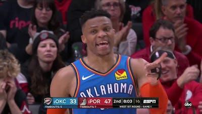 NBA on ESPN Theme (OKC vs POR TrailBlazers Game 1)