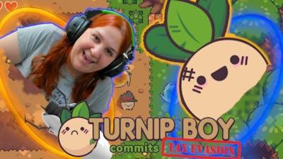 I'M playing PORTAL now. - Turnip Boy Commits Tax Evasion [3]