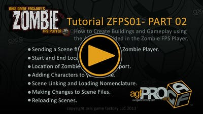 AGFPRO Zombie FPS Tutorial 01 Part 02