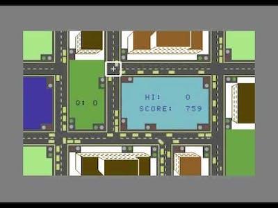 Traffic (C64) gameplay