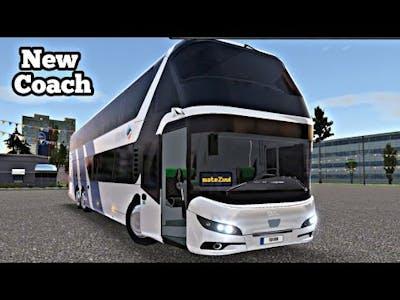 Bus Simulator Ultimate UPDATE- New BUS Neoplan Skyliner 2020 Double-Decker Coach