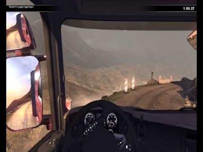 SCANIA Truck Driving Simulator - Road of death