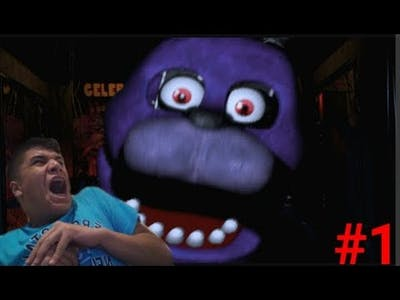 SCARY AS CRAP!! | Five Nights at Freddy's - Part 1