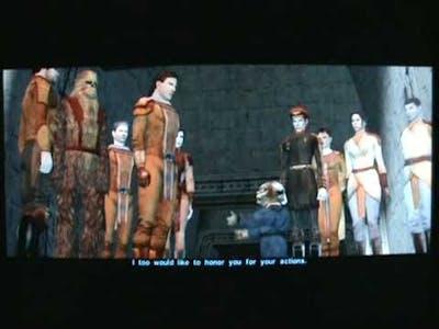 Star Wars Knights of the Old Republic - Jedi Revan vs Darth Malak + Bonus