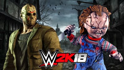 JASON VOORHEES vs CHUCKY!   WWE 2K18 Gameplay