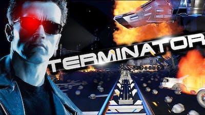 TERMINATOR! Judgement Day Movie Roller Coaster!