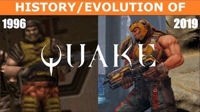 Evolution of QUAKE (1996-2019)