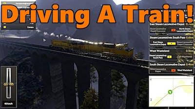 Train Mechanic Simulator 2017 | DRIVING A TRAIN!