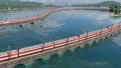 I made a 42 Kilometre Train in Transport Fever 2