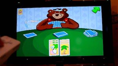 Putt-Putt & Fatty Bear's Activity Pack (Humongous Entertainment) (1993) Go Fish on Nintendo Wii