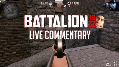 Battalion 1944 - When the game doesn't want you to carry
