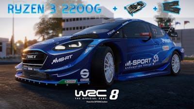 Ryzen 3 2200g + GTX 1060 3Gb Tested Game : WRC 8 FIA World Rally Championship (Set : High)