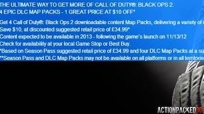 Black Ops 2: DLC Season Pass for *great* COD ELITE - PRESTIGE MASTER - ALL INFO / DETAILS