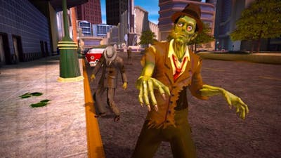 Stubbs the Zombie in Rebel Without a Pulse - Gameplay PC